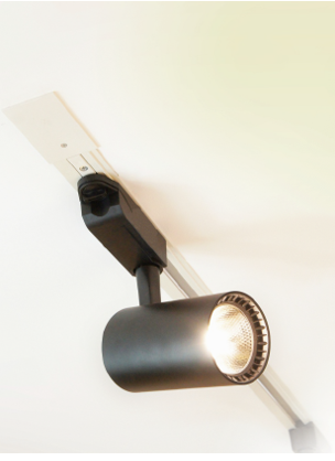Spot Di Luce Iluminação preto