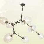 pendente molecula di luce